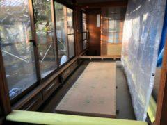 木造住宅耐震補強工事を行いました!