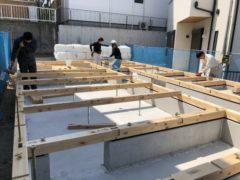 名古屋市  N様邸  木造新築工事